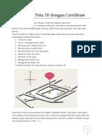 Membuat Peta 3D Dengan CorelDraw