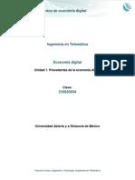Unidad 1. Fundamentos de la Economía digital