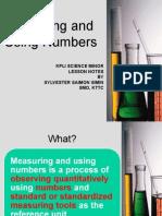6_measuring & Using Numbers