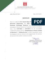 4 Ongc Haque Training Certificate