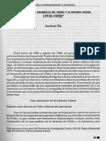 Constantes en El Desarrollo Del Teatro y La Historia Chilena
