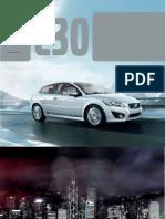 Volvo c30 Brochure 2013 Us