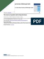 Annen Et Al. (2008) the Deep Intrusion Zone in Granitic Melt
