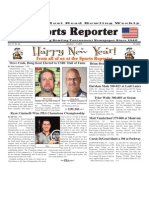 January 1 - 7, 2014 Sports Reporter