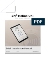 2n Helios Uni - Brief-Installation Manual En1837 v1.0.0.7