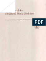 Chemistry of the Sub Alkalic Silicicic Obsidians