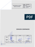 PG-DIP-09 Procedimiento Trabajos Espacios Confinados Rev. 0