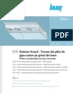 Tavane Rigips Pentru Constructii Noi Sau Renovate
