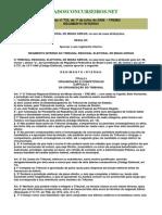 Regimento Interno Do Tribunal Regional Eleitoral (TRE) de Minas