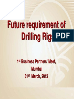 Future Requirement of Drilling Rigs