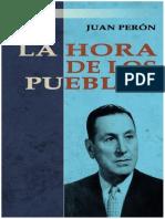 Juan Domingo Peron La Hora de Los Pueblos