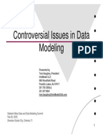Controversia Lissues in Data Modeling