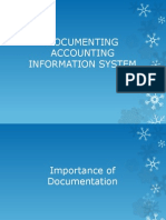 Ais-documenting Accounting Information System PPT