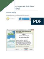 Creación de programas Portables usando Thinstall