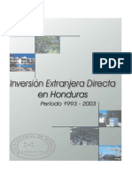 Inversion Extranjera Directa 1993-2003