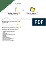 Transform Windows XP to Windows 7