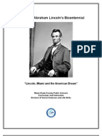 Lincoln Bicentennial Resources