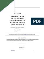 Dos Tacticas de La Socialdemocracia Lenin