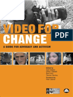 Video for Change a Guide for Advocacy and Activism