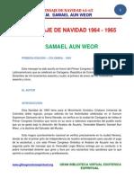 02 63 ORIGINAL Mensaje de Navidad 1964 Www.gftaognosticaespiritual.org