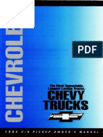 1994 Chevrolet C 1500 Owners Manual