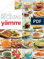 Livro de Receitas Yammi