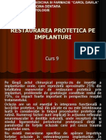 Curs 09 - Restaurarea Protetica Pe Implanturi