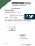MINISTERIO VIVIENDA - OFICIO N° 583
