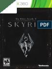 Skyrim Manual Xbox
