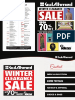 Winter Clearance 2013