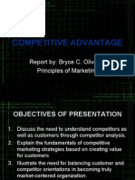Marketing Competitive Advantage