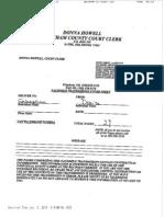 Natalie Lynn Webb Probable Cause Affidavit