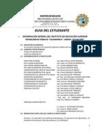 GUÍA DEL ESTUDIANTE ASUNCIÓN - 2013