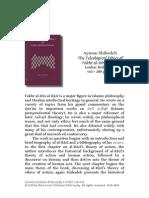 The Teleological Ethics of Fakhr al-Dīn al-Rāzī