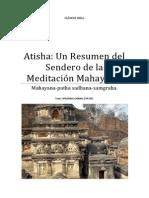 Atisha Un Resumen del Sendero de la Meditación Mahayana