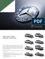Mercedes Benz Range