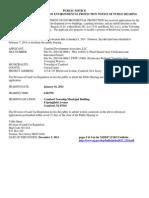 1-16-14 Meeting Public Notice