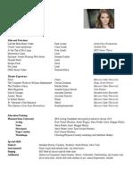 Cecilia Dorhauer's Resume