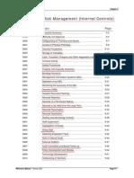 Operational Risk Management (Internal Controls)