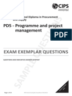 PD5_Programme and Project Management_Questions and Answers