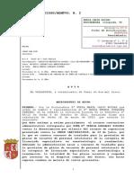 Auto JCA nº2 Valladolid despachando ejecución forzosa de sentencia CT SACyL 2010