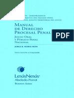 Moras Mom Jorge - Manual De Derecho Procesal Penal.pdf