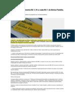 PIB Brasileiro Aumenta R
