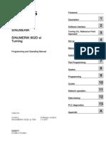 SIEMENS SINUMERIK 802D Programming and Operating Manual for Turning