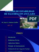 Analisis de Estabilidad de Taludes Con Anclajes