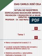 Tema 1. La Salud. Marco Conceptual