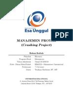 Manajemen Proyek Crashing Project