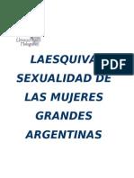Torres Maria Elena - La Esquiva Sexualidad De Las Mujeres Grandes Argentinas.doc