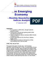 Emerging Economy September 2009 Indicus Analytics