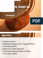 Fund.finance Lecture 8 Capital Structure